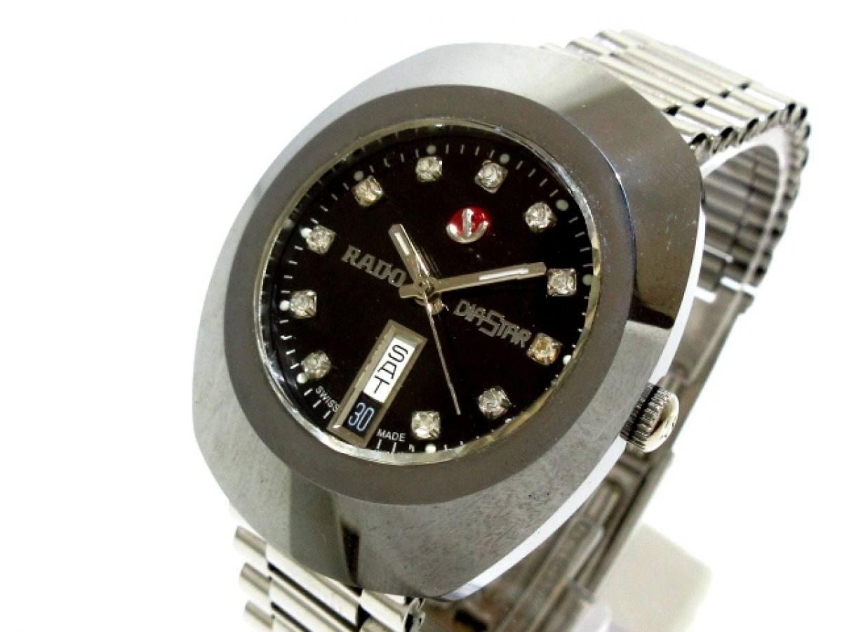 RADO(ラドー) 腕時計 DIASTAR - メンズ 黒【中古】