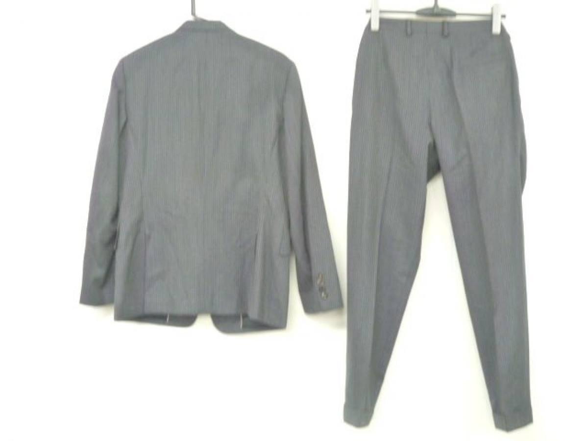 PaulSmith(ポールスミス) シングルスーツ サイズL メンズ ダークグレー×グレー×マルチ COLLECTION/ストライプ【中古】