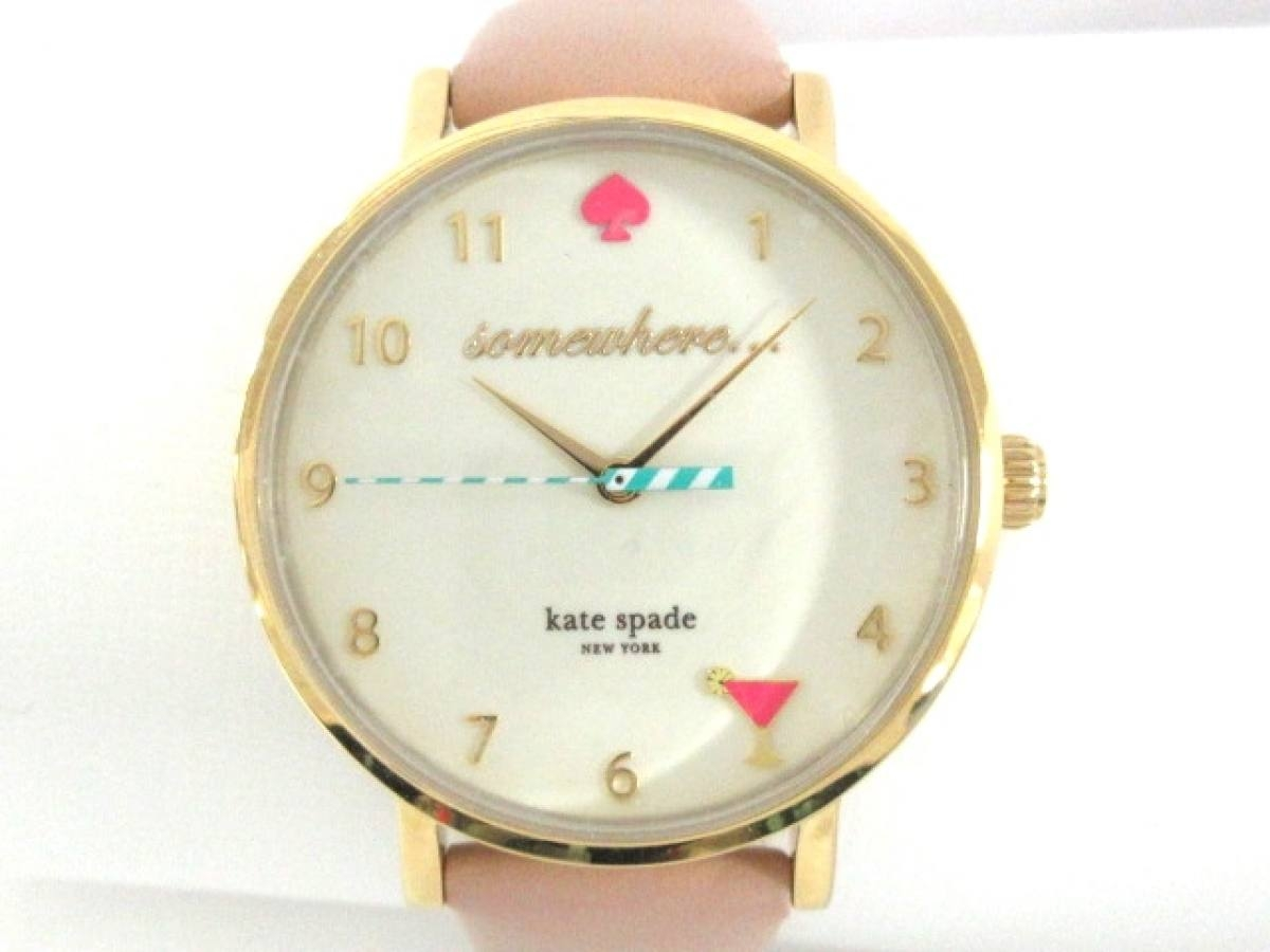 Kate spade(ケイト) 腕時計美品■ 484 レディース アイボリー【中古】