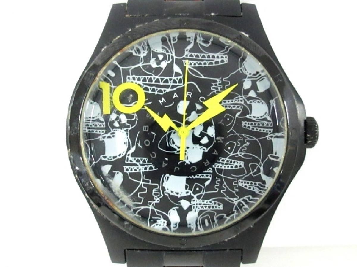 MARC BY MARC JACOBS(マークジェイコブス) 腕時計 MBM9027 レディース 黒×白【中古】
