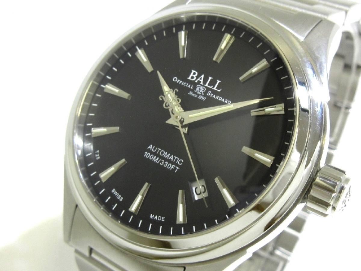 BALL(ボールウォッチ) 腕時計 ストークマン ヴィクトリー NM20980 メンズ 黒【中古】