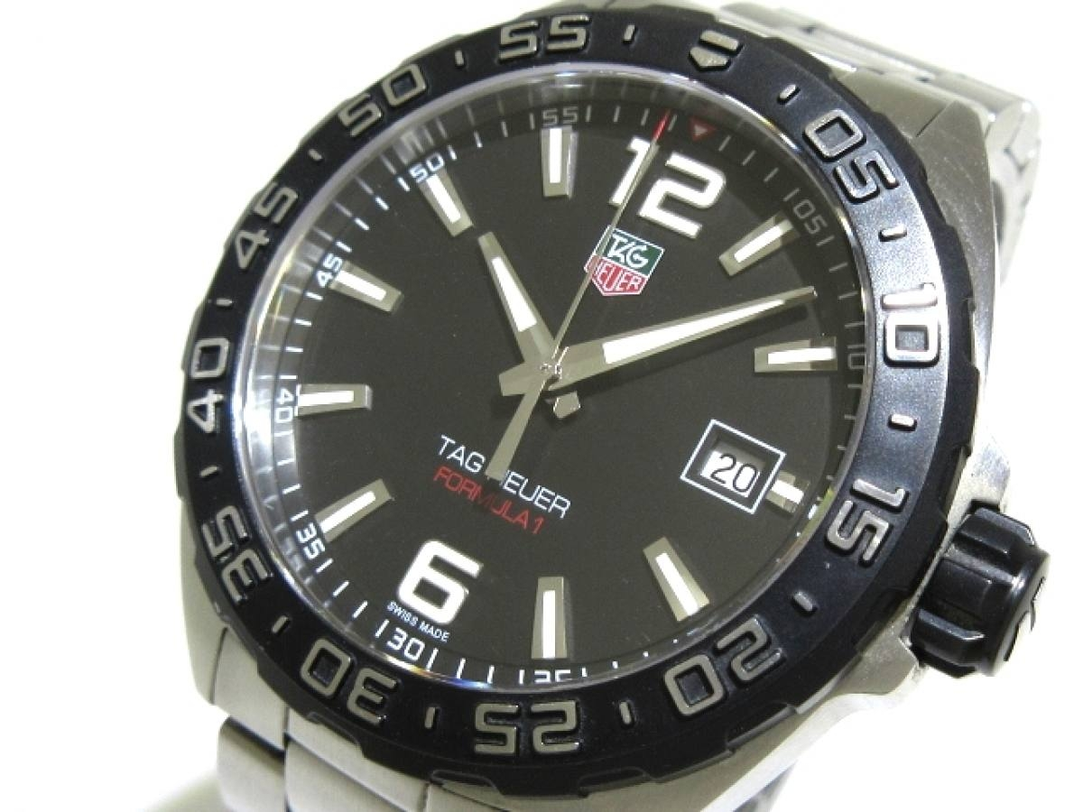 TAG Heuer(タグホイヤー) 腕時計 フォーミュラ1 WAZ1110 メンズ 黒【中古】