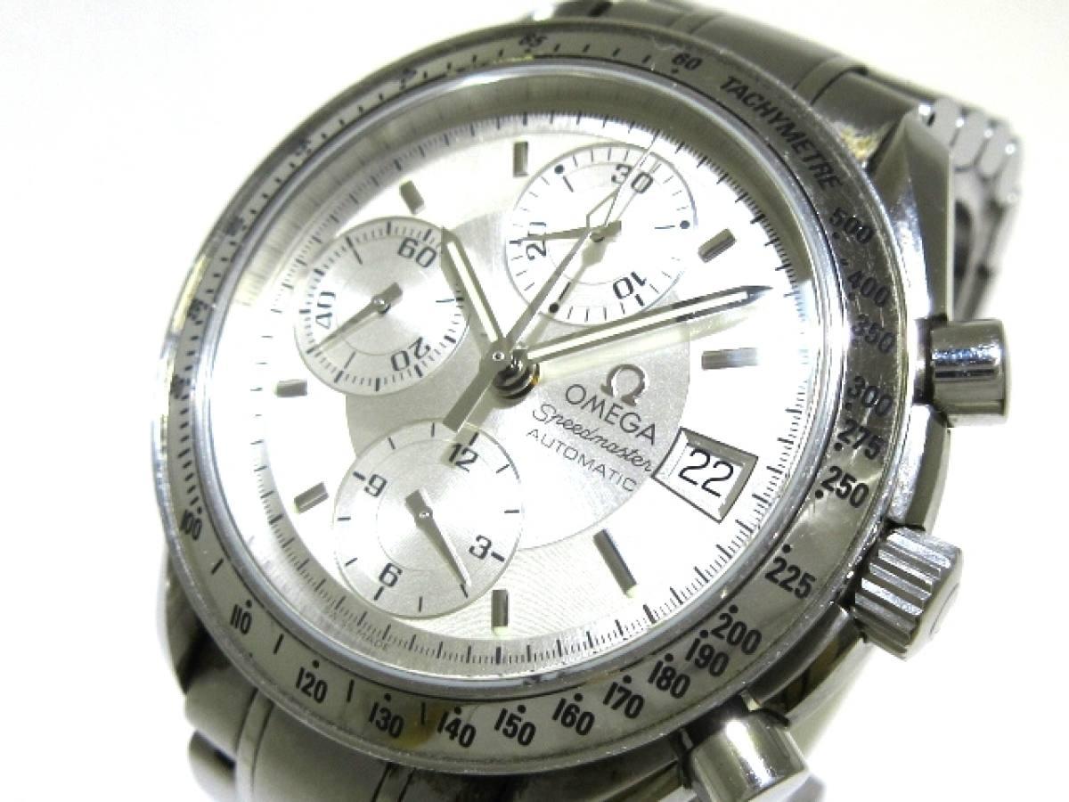 OMEGA(オメガ) 腕時計 スピードマスター デイト 3211.3 メンズ シルバー【中古】