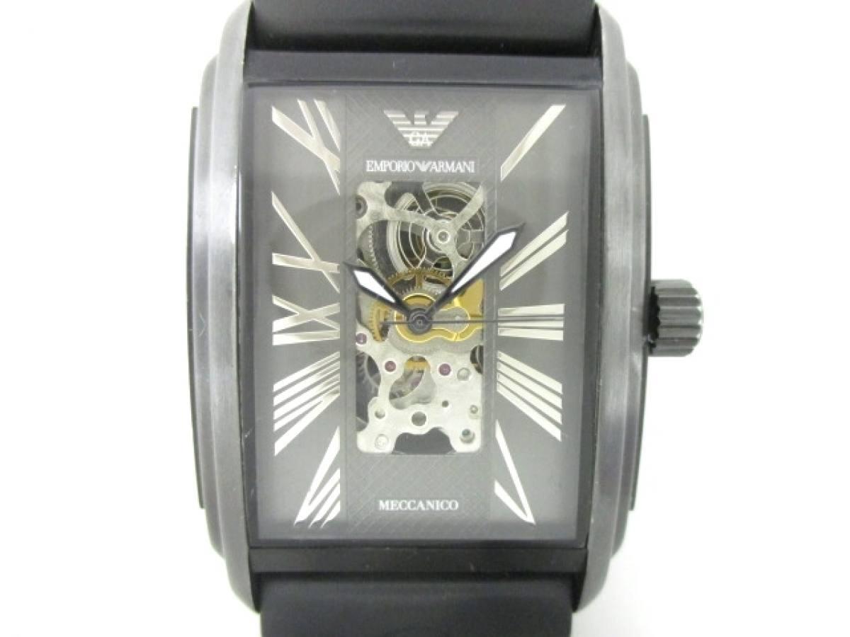 EMPORIOARMANI(アルマーニ) 腕時計 AR-4226-30 メンズ グレー【中古】