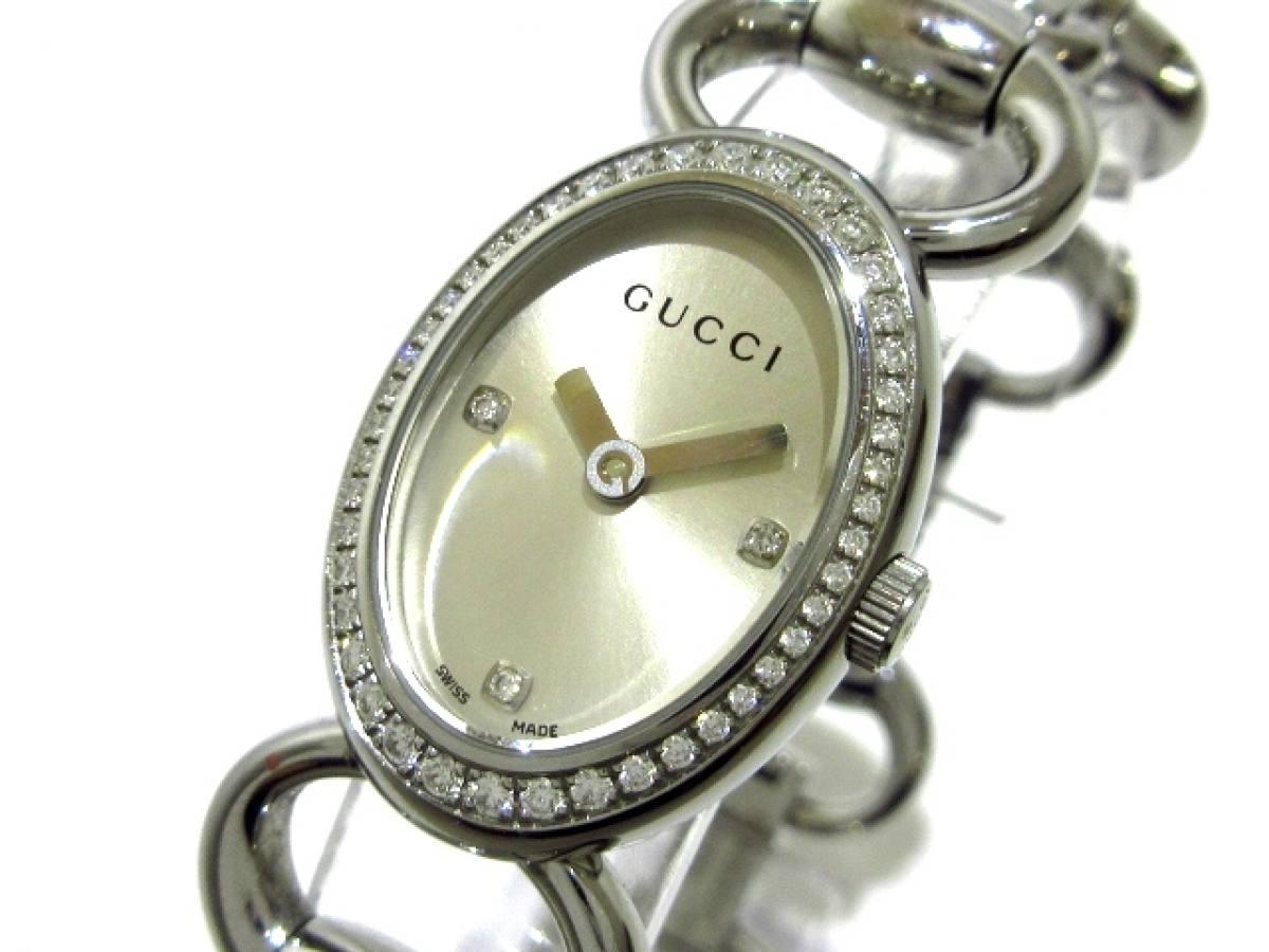 GUCCI(グッチ) 腕時計美品■ トルナブォーニ 118 レディース シルバー【中古】