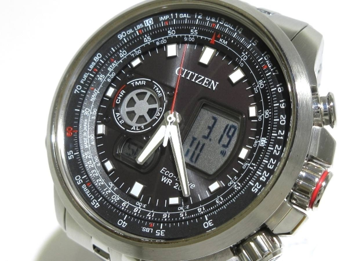CITIZEN(シチズン) 腕時計美品■ プロマスター U200-R005634 メンズ 黒【中古】