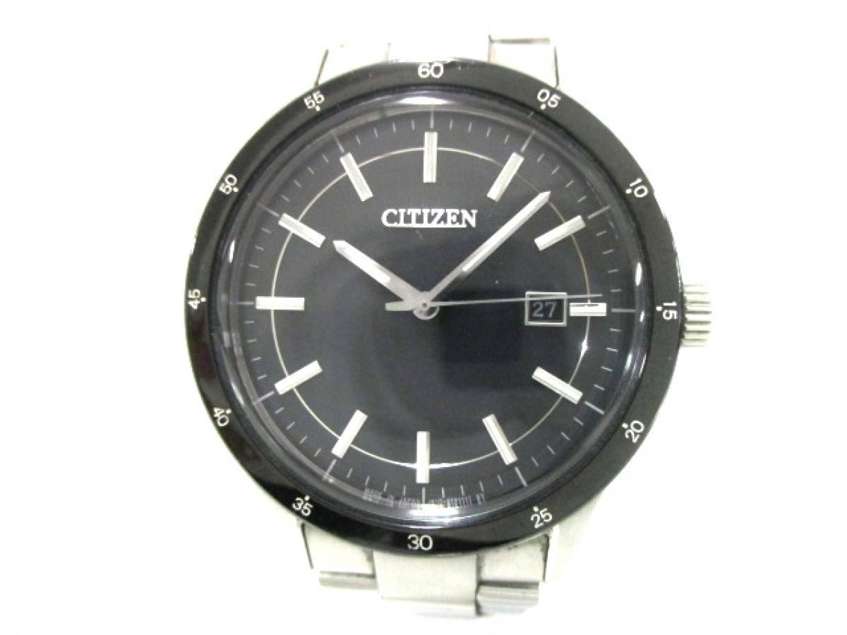 CITIZEN(シチズン) 腕時計美品■ J810-S083478 メンズ 黒【中古】
