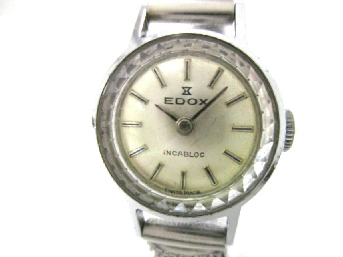 EDOX(エドックス) 腕時計美品■ - レディース ゴールド【中古】