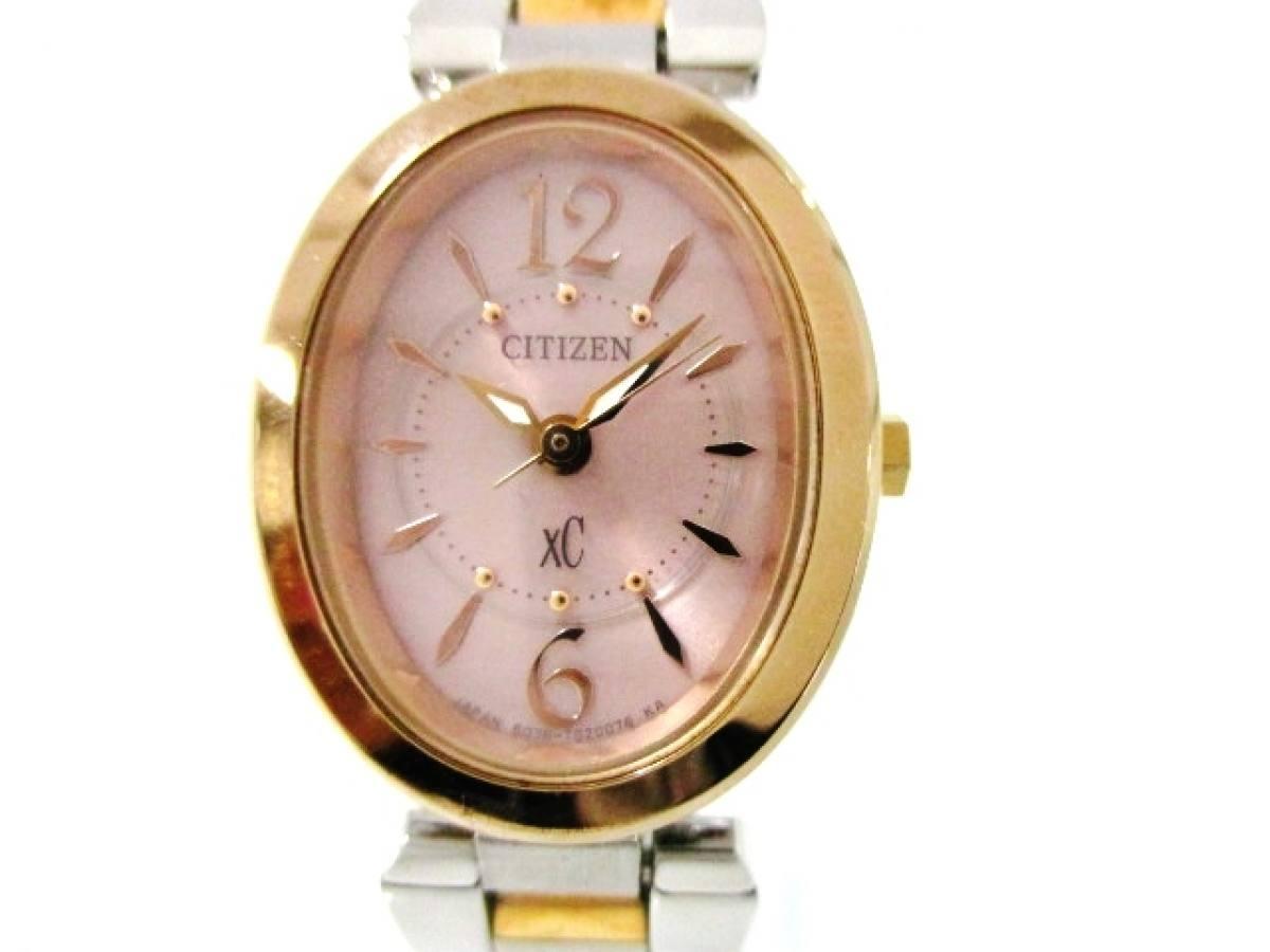 CITIZEN(シチズン) 腕時計 XC B036-T012728 レディース ピンク【中古】