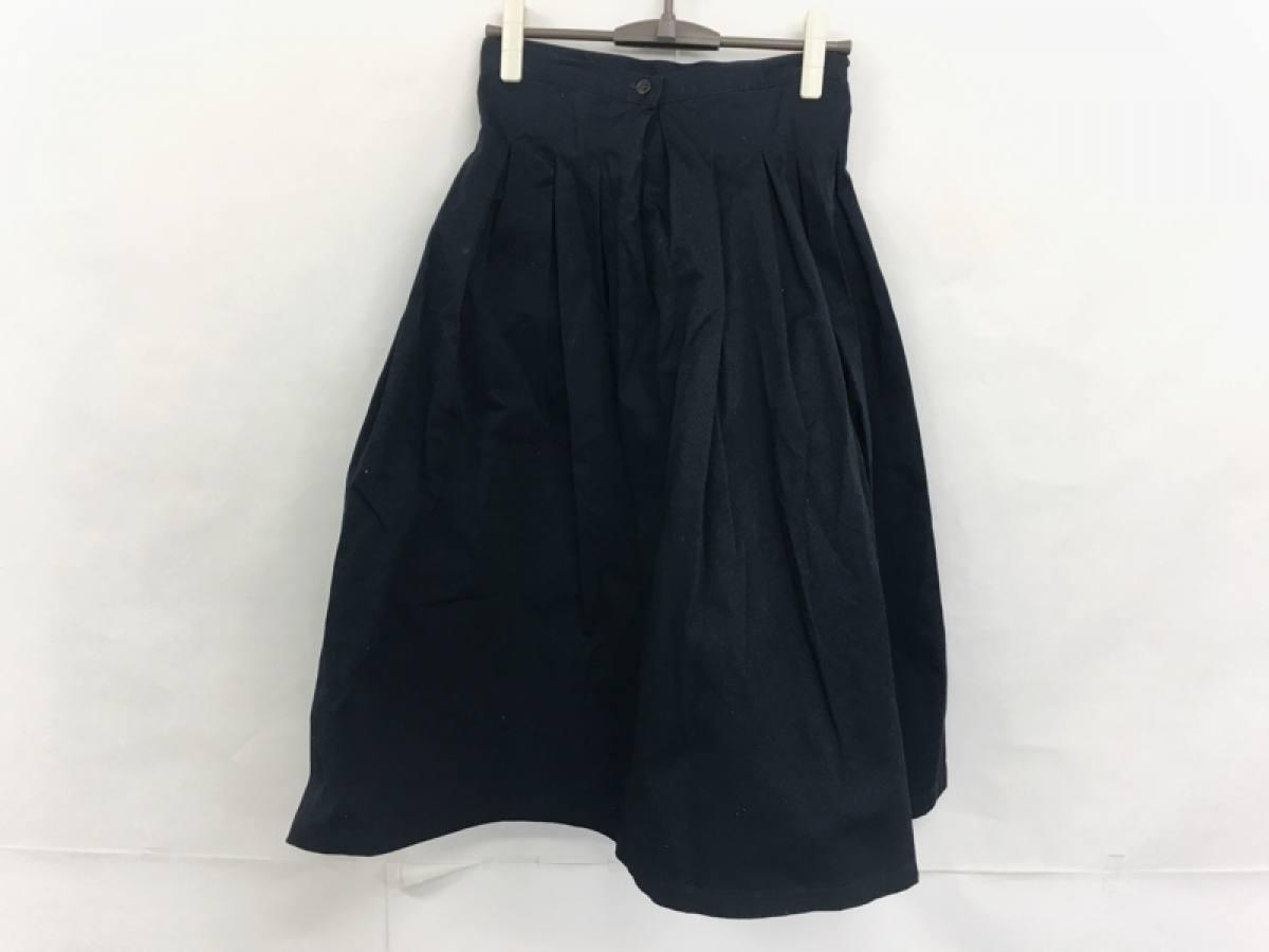 GRANDMA MAMA DAUGHTER(グランマママドーター) ロングスカート サイズ1 S レディース ダークネイビー【中古】
