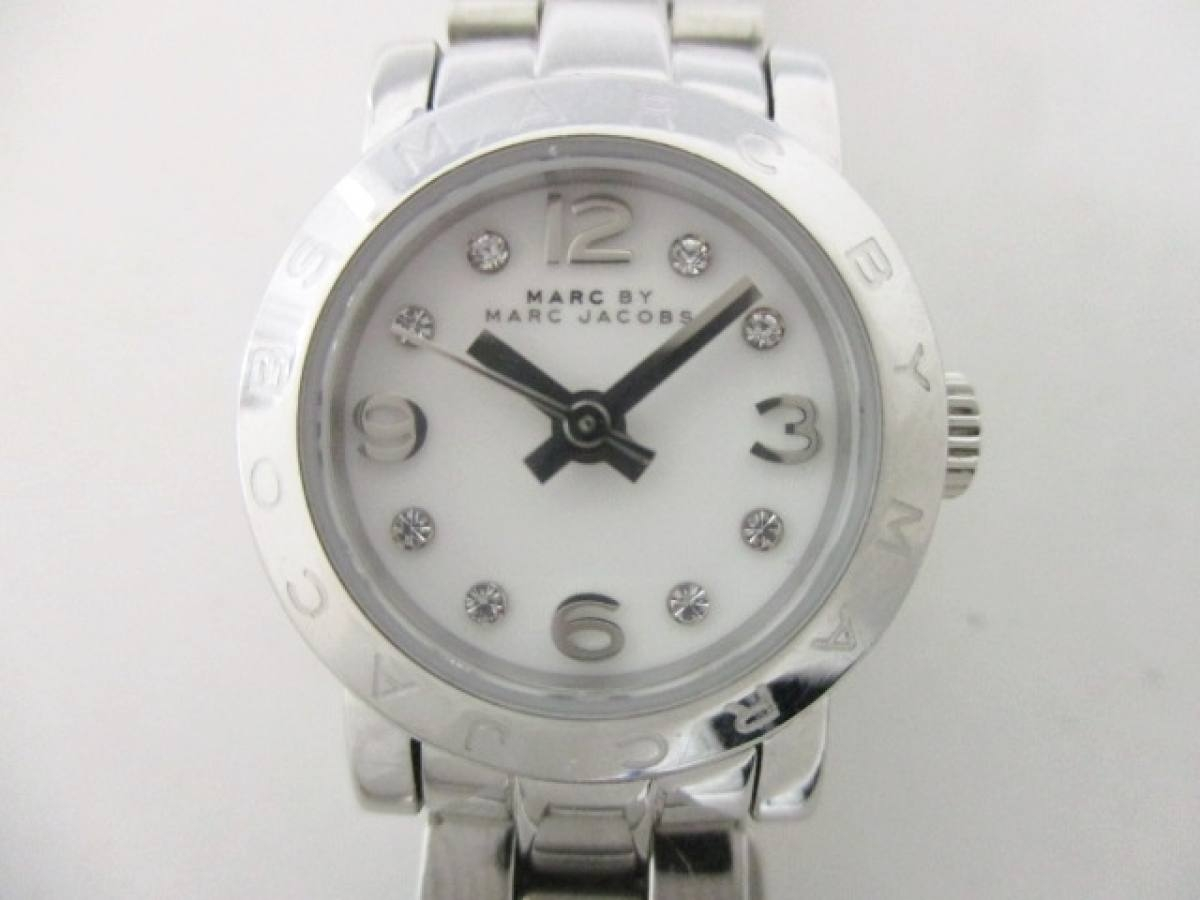 MARC BY MARC JACOBS(マークジェイコブス) 腕時計 MBM3225 レディース 白【中古】