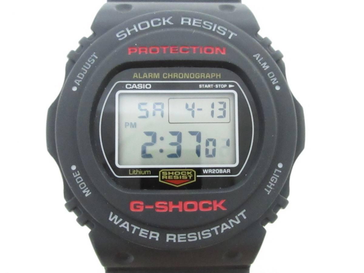 CASIO(カシオ) 腕時計美品■ G-SHOCK DW-5750E メンズ 黒【中古】