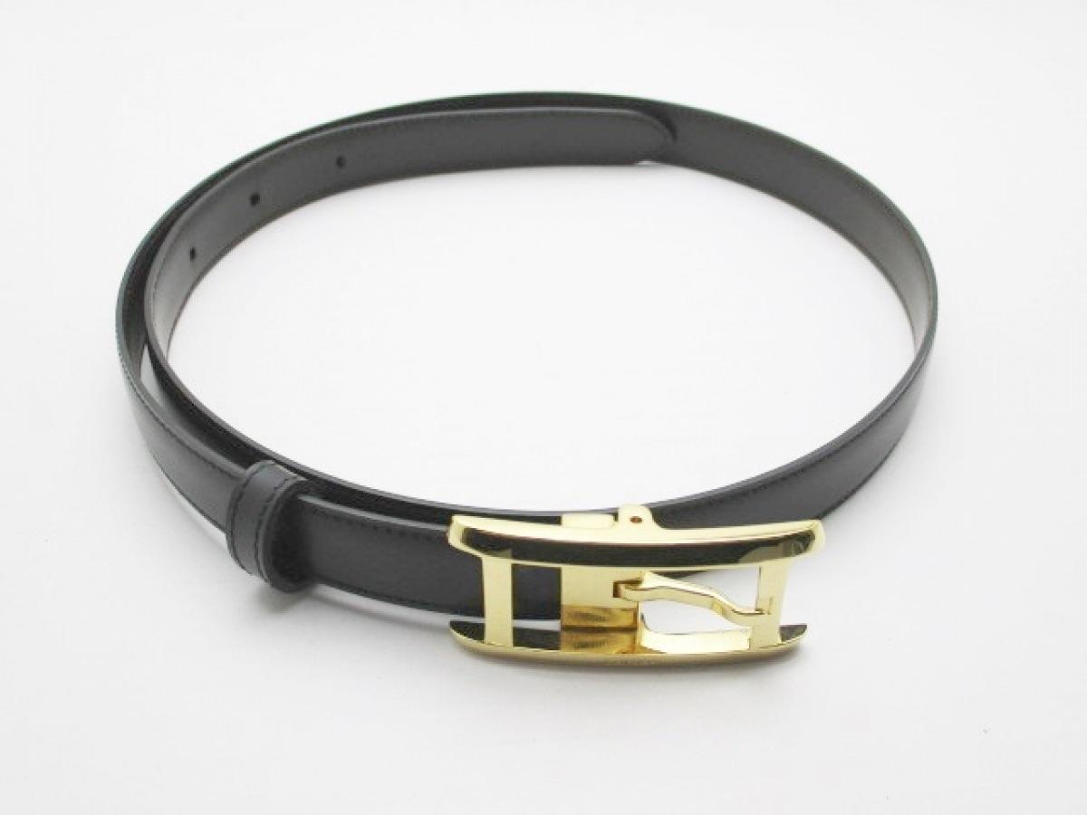 Cartier(カルティエ) ベルト美品■ 黒 レザー【中古】