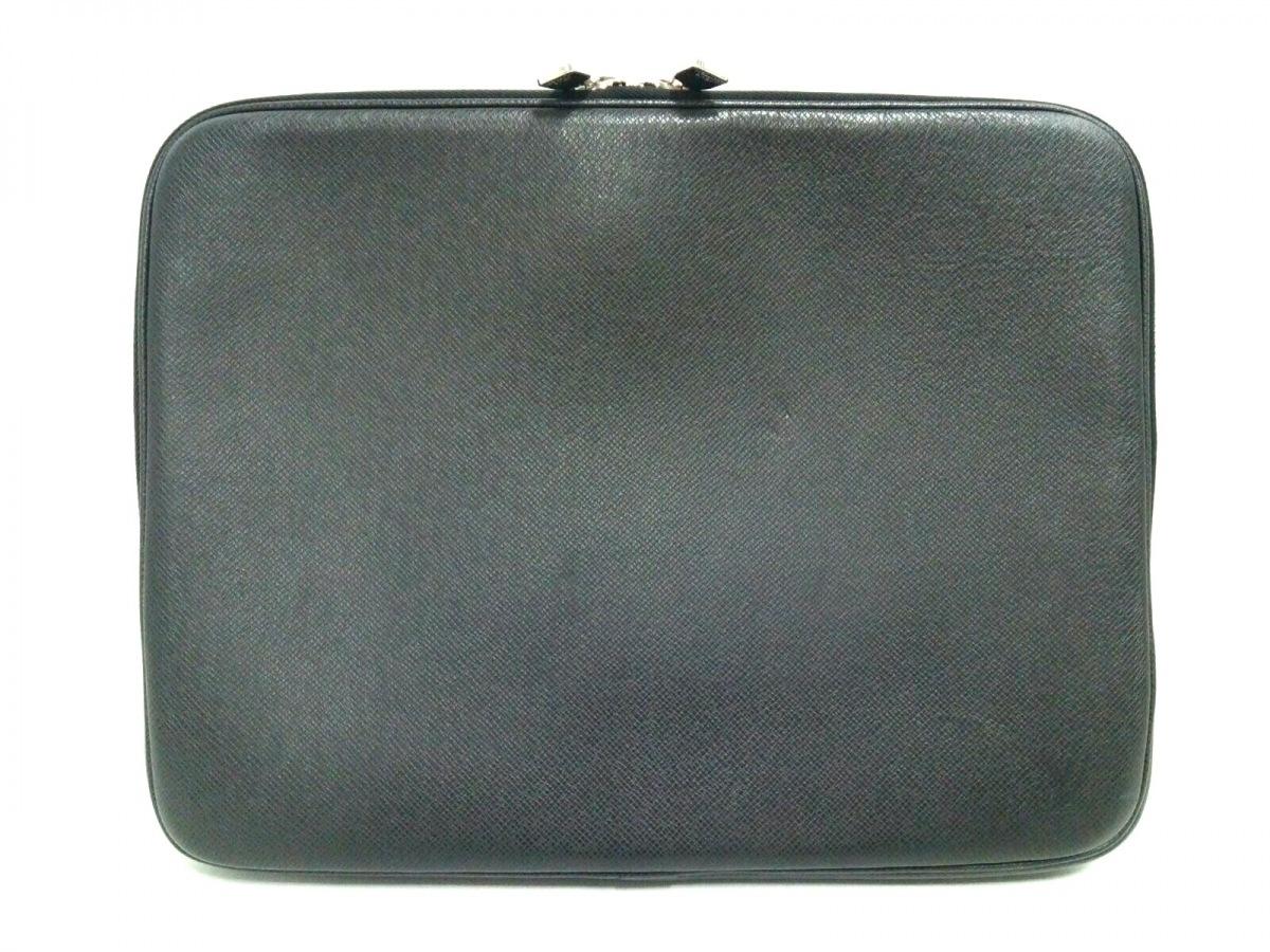 LOUIS VUITTON(ルイヴィトン) バッグ タイガ美品■ - アルドワーズ PCケース レザー(LVロゴの刻印入り)【中古】