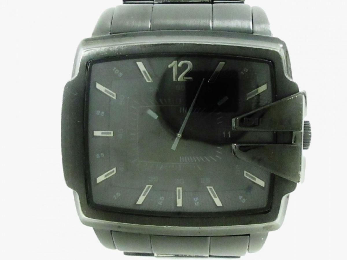 DIESEL(ディーゼル) 腕時計美品■ DZ-1499 メンズ 黒【中古】