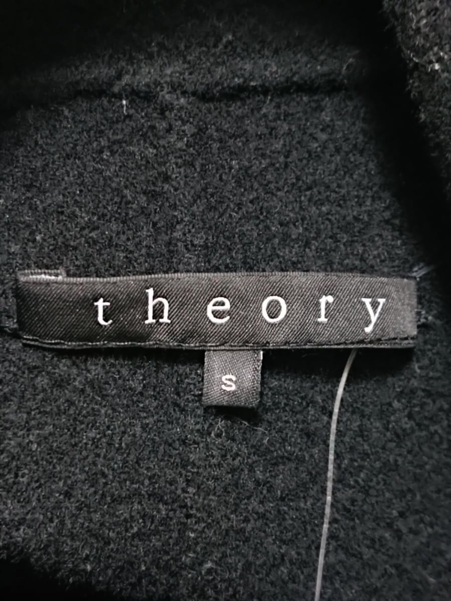 theory セオリーポンチョ サイズS レディース美品黒 冬物vN0mw8n