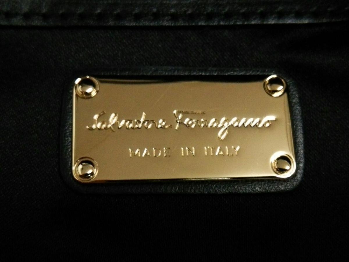 格安即決 Salvatoreferragamo サルバトーレフェラガモ ハンドバッグ美
