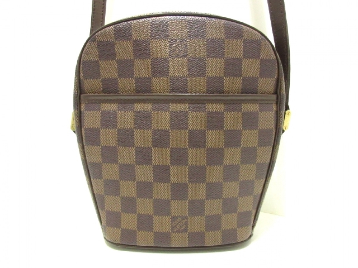 LOUIS VUITTON(ルイヴィトン) ショルダーバッグ ダミエ イパネマPM N51294 エベヌ ダミエ・キャンバス【中古】