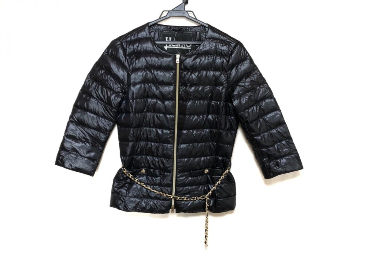 HERNO(ヘルノ) ダウンジャケット サイズ40 M レディース美品■ PI0005D 黒 冬物【中古】