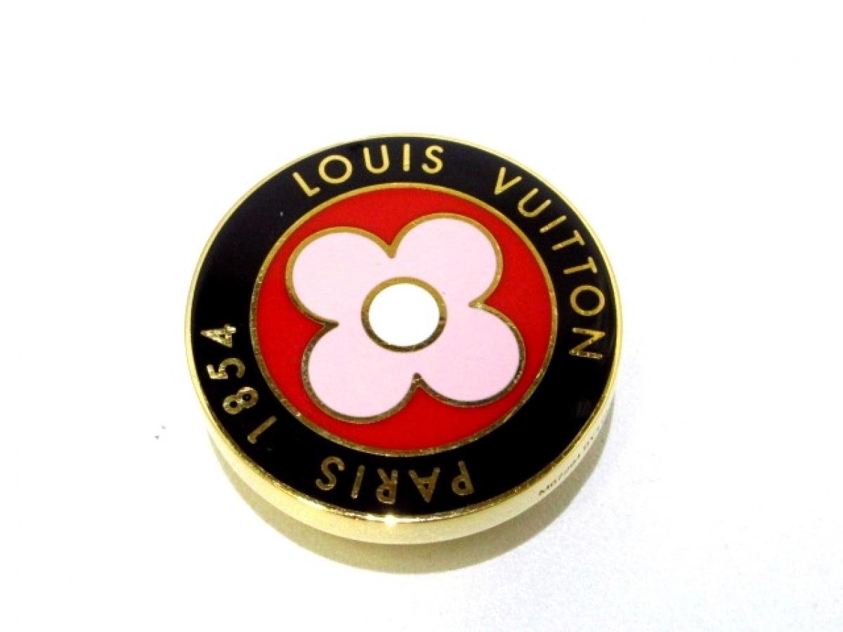 LOUIS VUITTON(ルイヴィトン) 小物 ビジュー サック・サマーフィール M67294 黒×ピンク×ゴールド エナメル【中古】