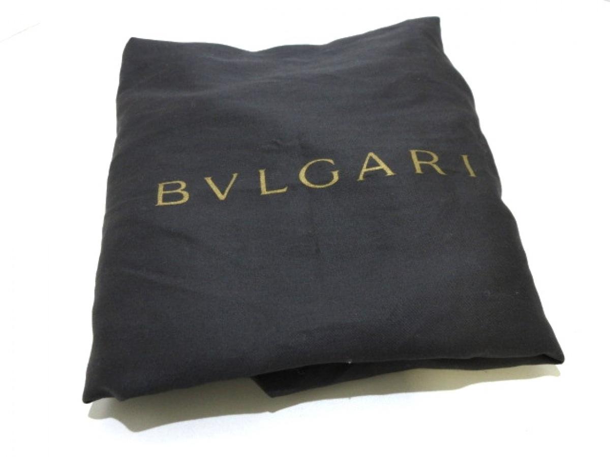 BVLGARI ブルガリショルダーバッグ モネーテ ゴールド プリーツ レザー8wN0nm