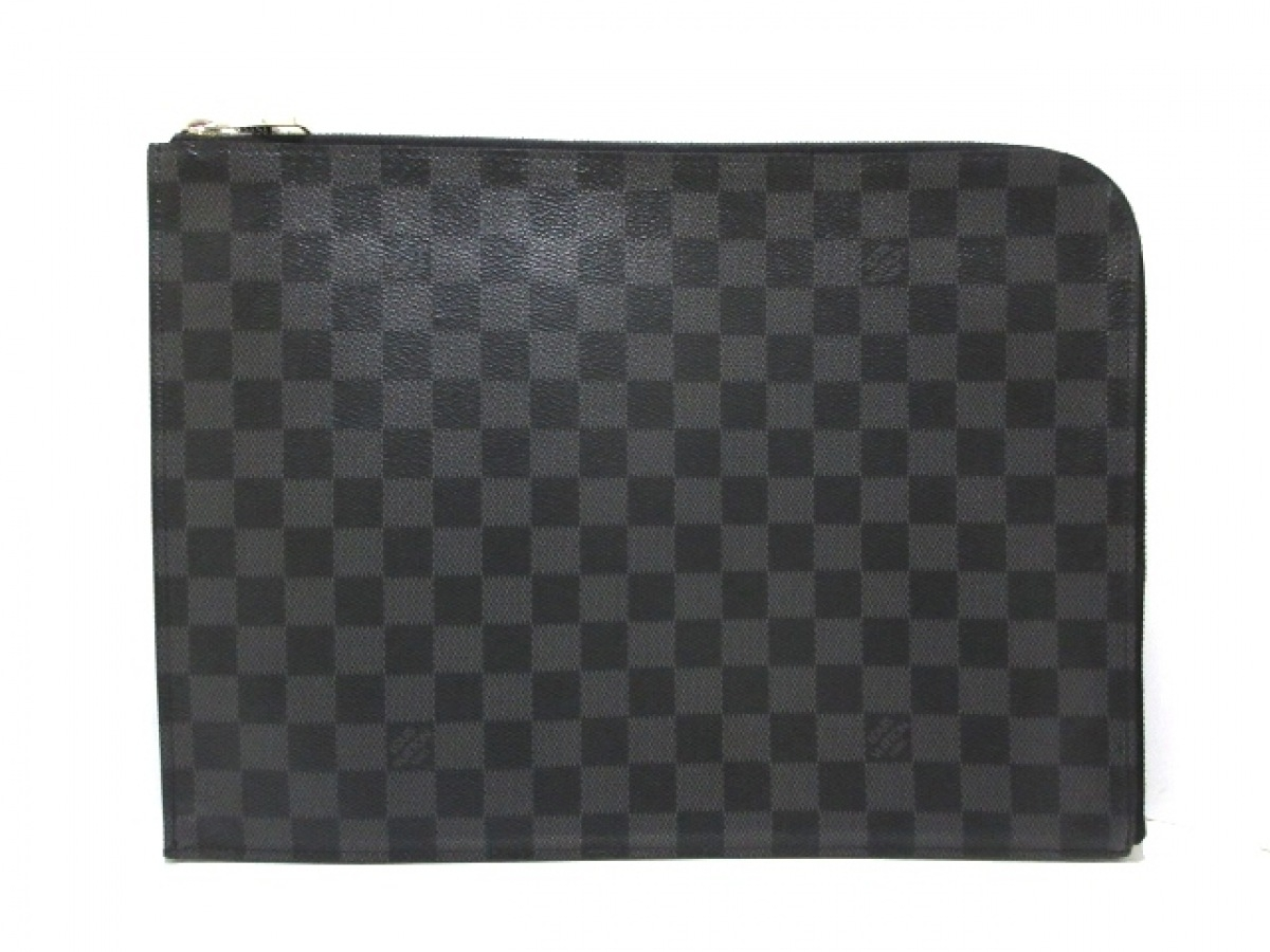 LOUIS VUITTON(ルイヴィトン) クラッチバッグ ダミエグラフィット ポシェットジュールGM N41501 ダミエグラフィット【中古】