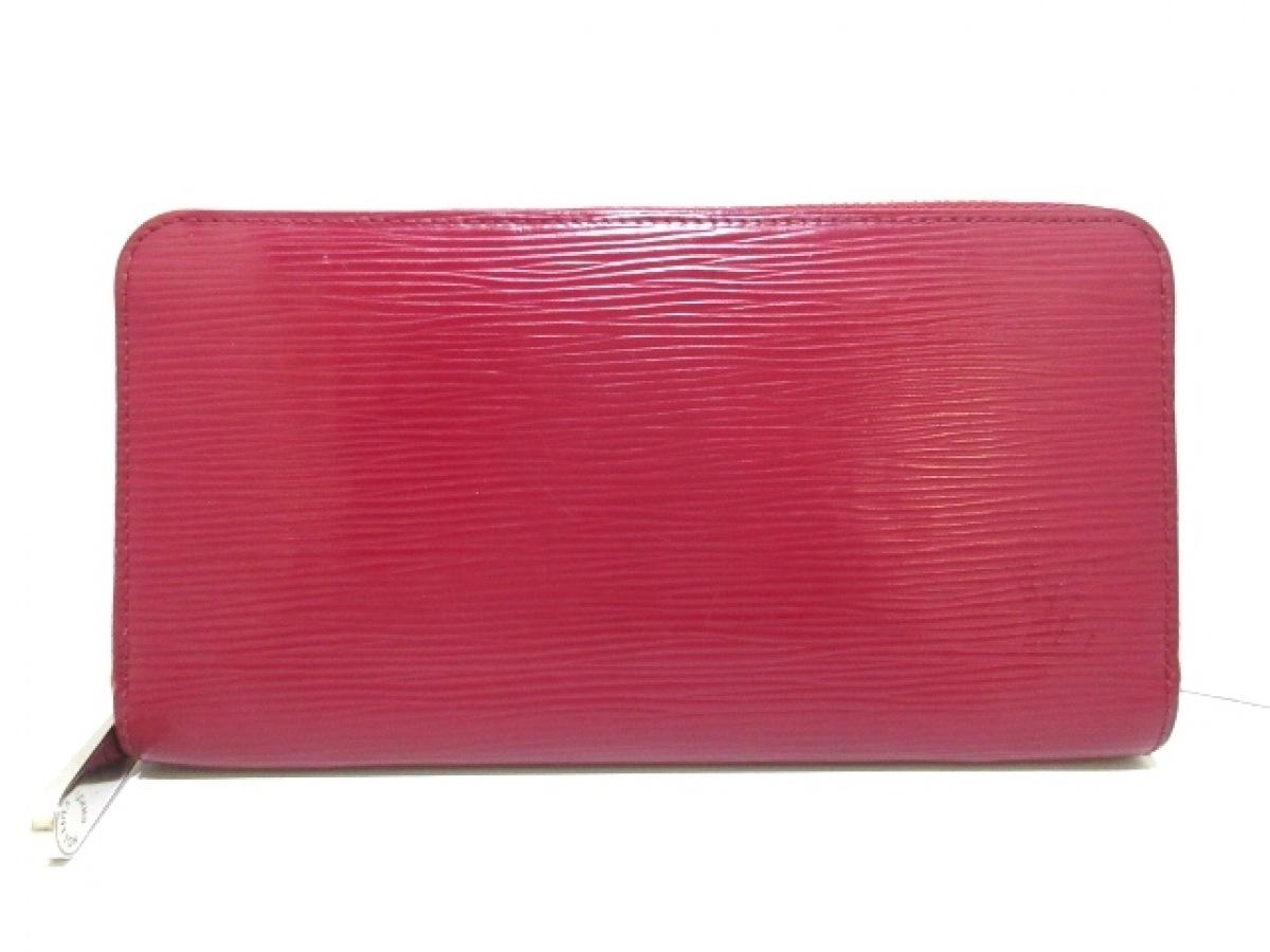 LOUIS VUITTON(ルイヴィトン) 長財布 エピ ジッピーウォレット M61858 フューシャ エピ・レザー(LVロゴの刻印入り)【中古】