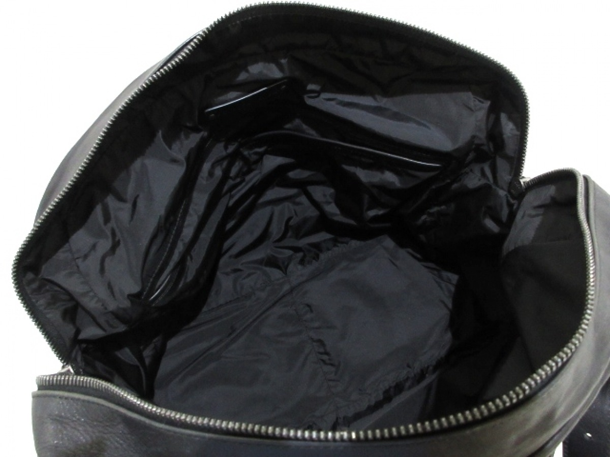BOTTEGA VENETA ボッテガヴェネタショルダーバッグ イントレチャート 248521 黒 レザー67gYyvbf