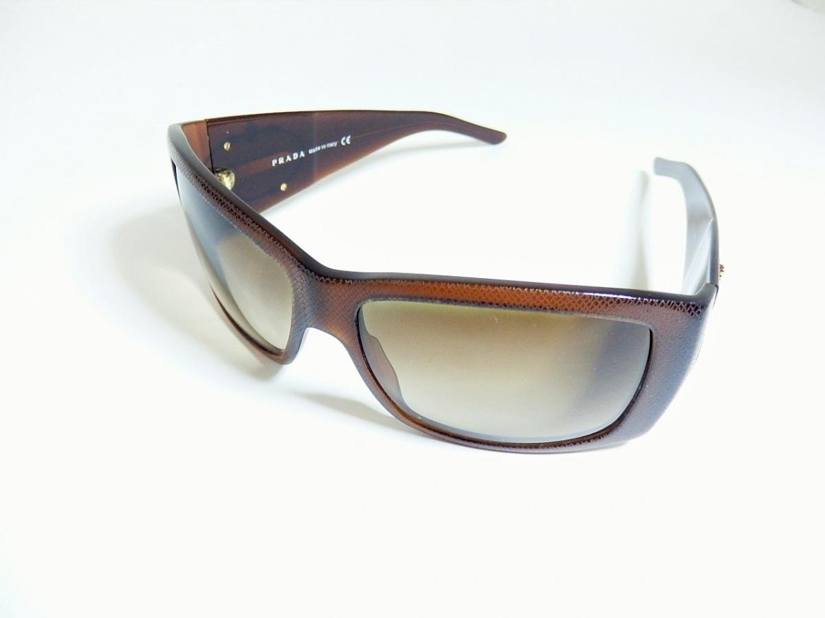 最適な材料 PRADA(プラダ) サングラス - SPR11I ダークブラウン プラスチック, カワカミムラ 2895ab2a
