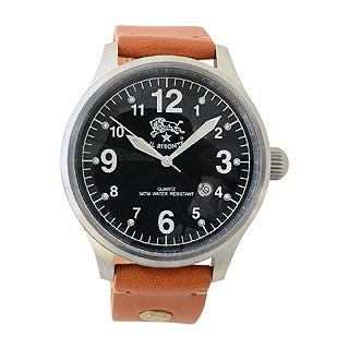 イルビゾンテ 時計 メンズ ブラック H0252 145N キャメル イルビゾンテ 腕時計 【あす楽対応_関東】 【大人気・SALE・セール】