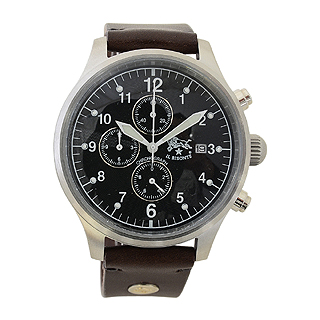 イルビゾンテ 時計 クロノグラフ メンズ ブラック H0301 132N ダークブラウン イルビゾンテ 腕時計 【あす楽対応_関東】 【大人気・SALE・セール】
