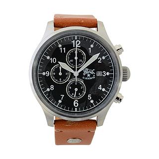 イルビゾンテ 時計 クロノグラフ メンズ ブラック H0301 145N キャメルイルビゾンテ 腕時計 【あす楽対応_関東】 【大人気・SALE・セール】