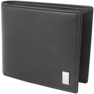 ダンヒル 財布 二つ折り財布 小銭入れあり QD3070A SIDECAR BLACK BILLFOLD 4CC & C/P サイドカー レザー BLACK ブラック 黒 BK 【あす楽対応_関東】