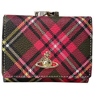 Vivienne Westwood ヴィヴィアンウエストウッド 51010018 10256DERBY NEW EXHIBITION三つ折り がま口財布 折りたたみ 財布 【あす楽対応_関東】