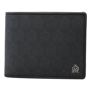 ダンヒル 財布 二つ折り財布 小銭入れあり L2PA32A WINDSOR BLACK ウィンザーブラック【あす楽対応_関東】