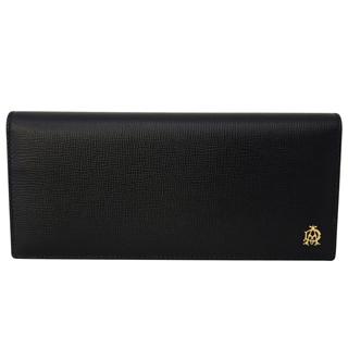 ダンヒル財布 二つ折り長財布 L2S810A かぶせ蓋 フラップ ウォレット BELGRAVE ベルグレイブ BLACK【あす楽対応_関東】