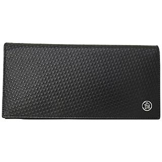 ダンヒル財布二つ折り 長財布 フラップウォレット L2V312A MICRO D8 D-EIGHT マイクロディーエイト レザー BLACK ブラック 黒 BK 【あす楽対応_関東】