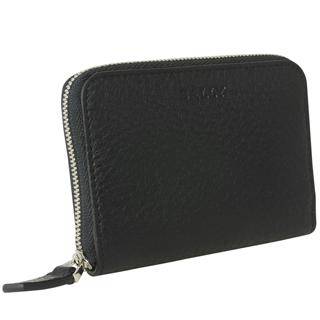 バリー カードケース 6202686 MEBIOT 780 カードホルダー クレジットカードケース ラウンドジッパー MILANO BLACK ブラック 黒【あす楽対応_関東】