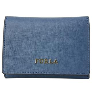 フルラ 財布 三つ折り財布 1006821 PIOMBO f ブルーレディース折り財布 【あす楽対応_関東】