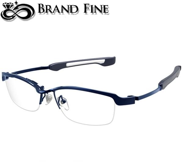 ストア 新品 未使用 フォーナインズ 999.9 眼鏡フレーム Quarter-century ダークブルー SP-12T ファッション通販 7