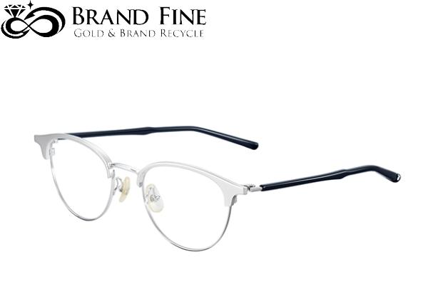 販売 新品 未使用 フォーナインズ 初売り 999.9眼鏡フレーム S-125T 2 メタルフレーム純正ケース付 シルバー シルバーマット