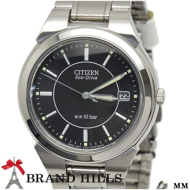 シチズン コレクション メンズ エコドライブ 腕時計 FRA59-2201 CITIZEN 未使用品【中古】