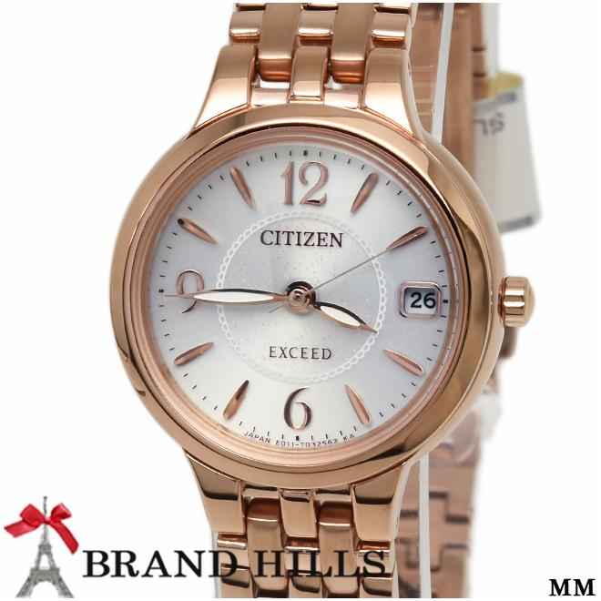 シチズン エクシード レディース エコドライブ 腕時計 EW2262-50A CITIZEN 未使用品【中古】