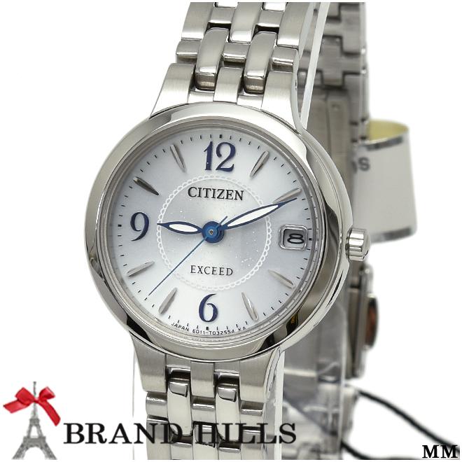 シチズン エクシード レディース エコドライブ 腕時計 EW2260-55A CITIZEN 未使用品【中古】