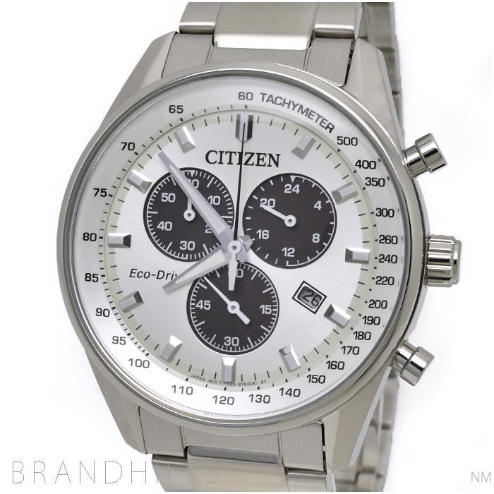 シチズン コレクション 腕時計 メンズ エコドライブ クロノグラフ AT2390-58A CITIZEN 未使用品 【中古】
