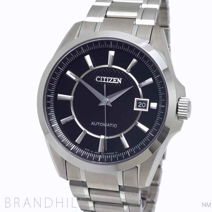 シチズン コレクション 腕時計 メンズ 自動巻き SS ブラック文字盤 NB1040-52E CITIZEN 未使用品 【中古】