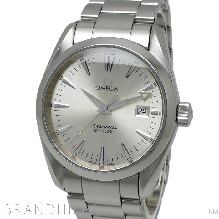 オメガ 腕時計 クォーツ シーマスターアクアテラ 150M SS シルバー文字盤 2518.30 OMEGA 【中古】