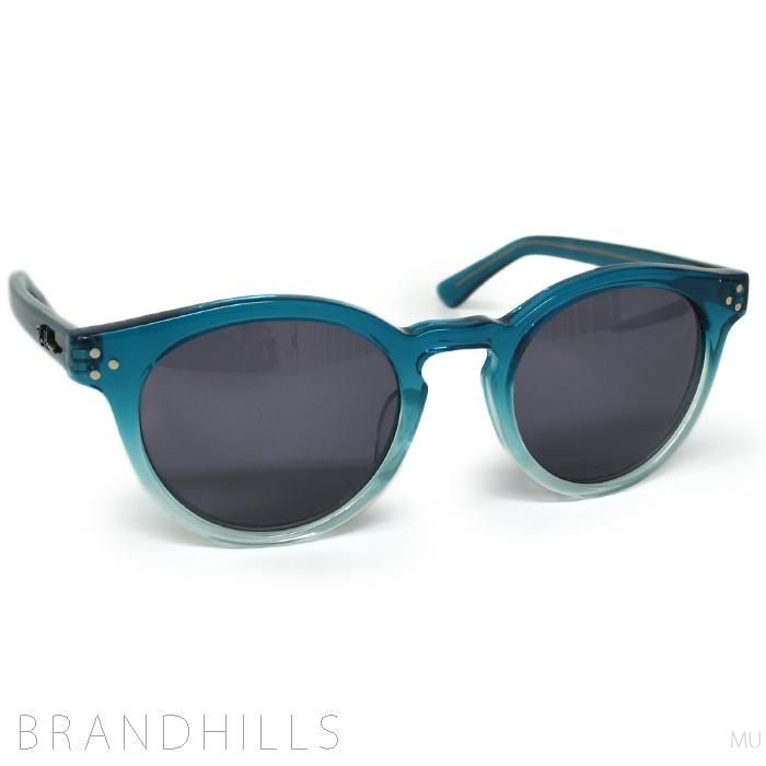 ロンハーマン サングラス メンズ レディース 金子眼鏡 コラボ クリアブルー Ron Herman 未使用品 【中古】