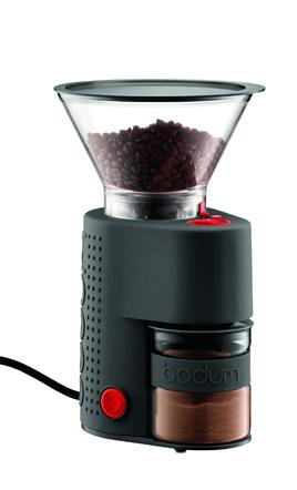 bodum ボダム BISTRO ビストロ 電気式コーヒーグラインダー ブラック 10903-01JP 電動グラインダー