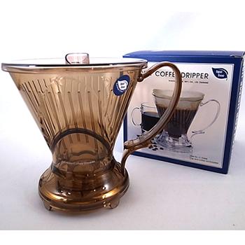 ついに再販開始 コーヒー粉を浸水方式サイフォンのようにかき混ぜて淹れるドリッパー CLEVER クレバー コーヒードリッパー NEW Lサイズ Coffee Clever Dripper C-70888